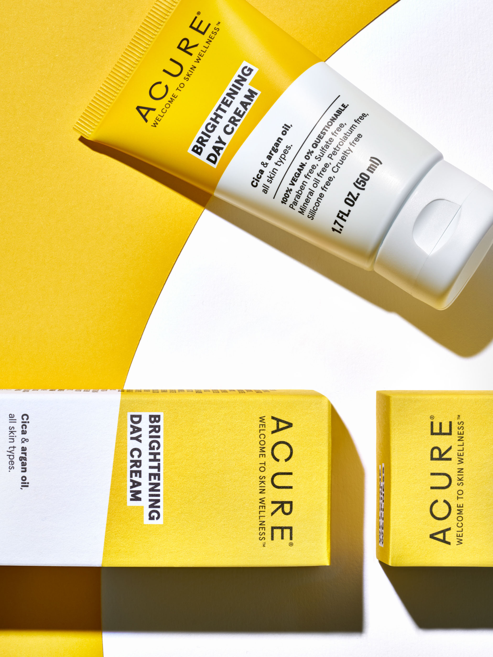 STAN Acure Product Still Life Brightening Day Cream
