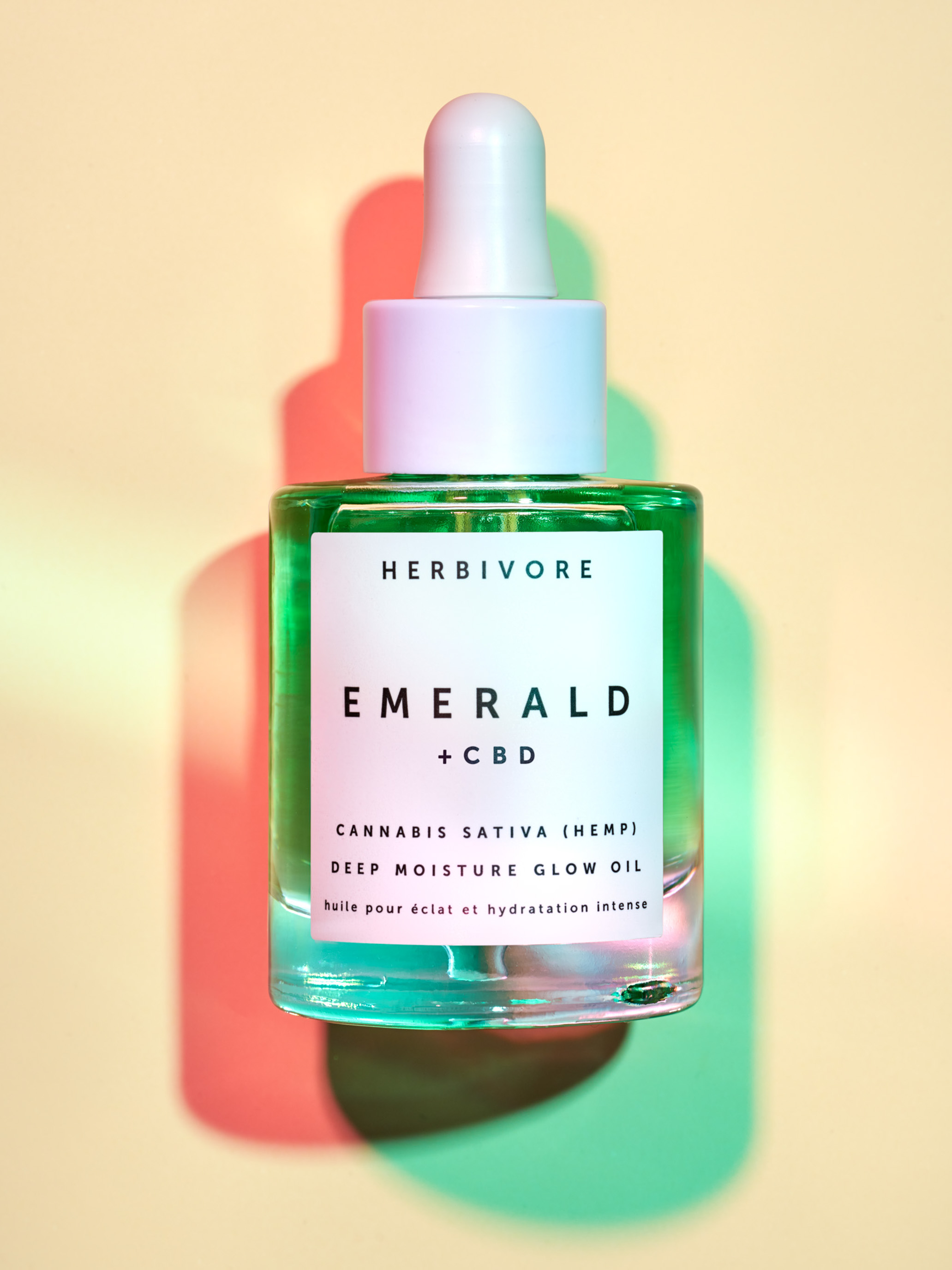 STAN Herbivore Emerald CBD Editorial Still Life with Double Shadow
