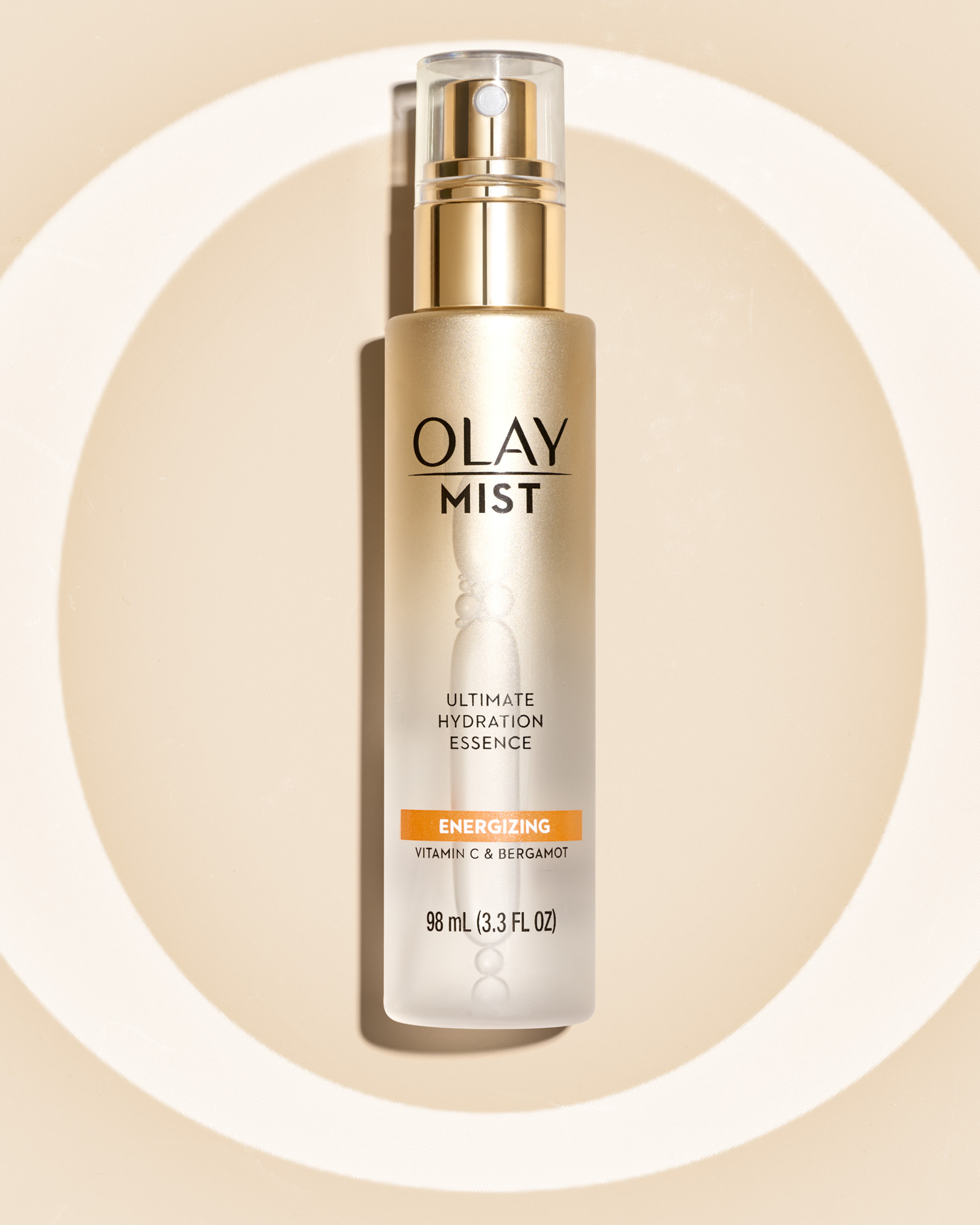 STAN Olay Hydrating Mist Product Still Life