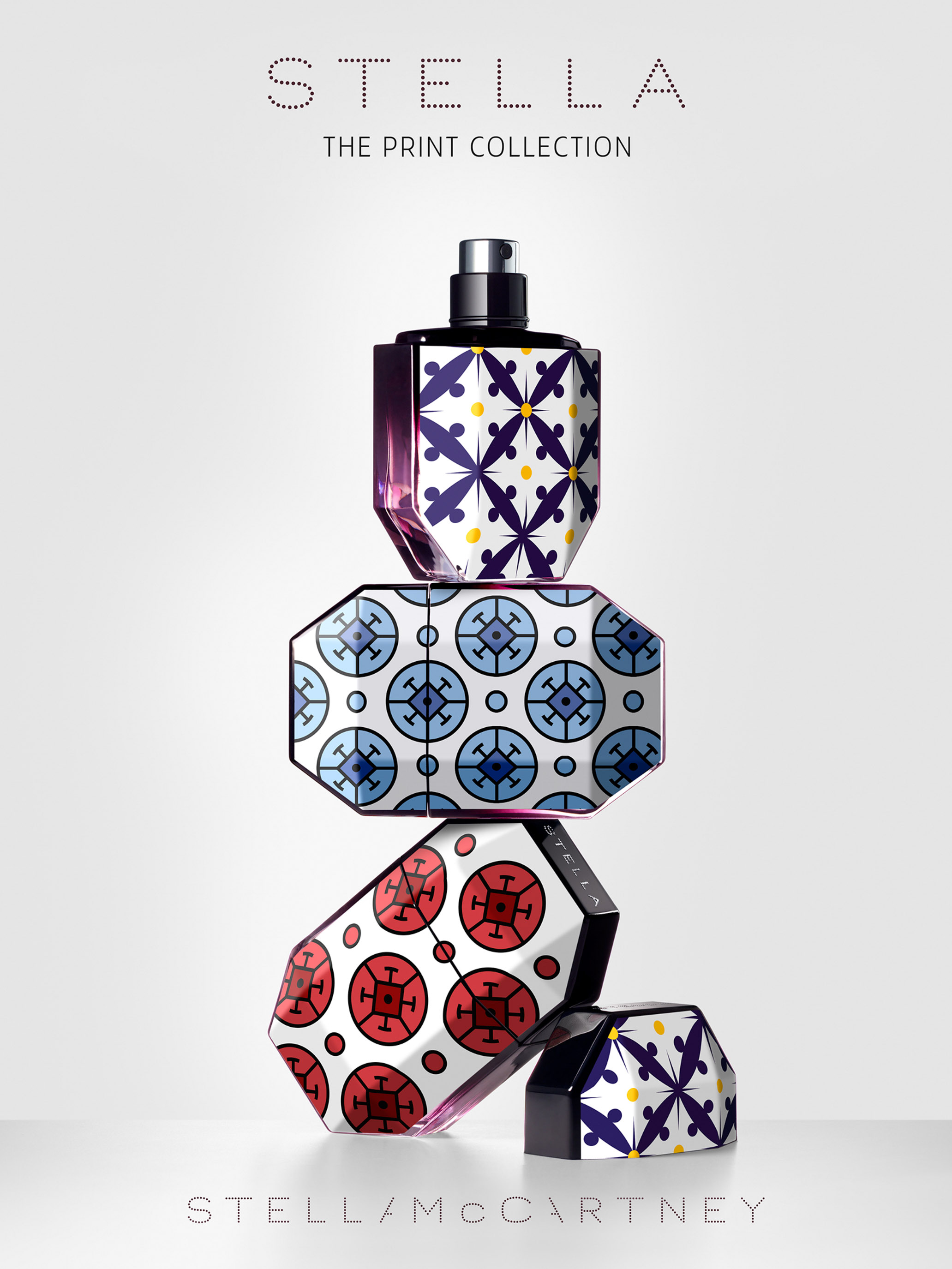 STAN Stella McCartney Print Collection Fragrance Still Life Advertising